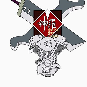 Shinra Motor Company by theyellowsnowco