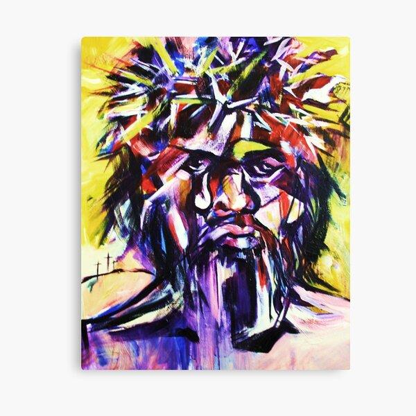 Black Christ Canvas Print