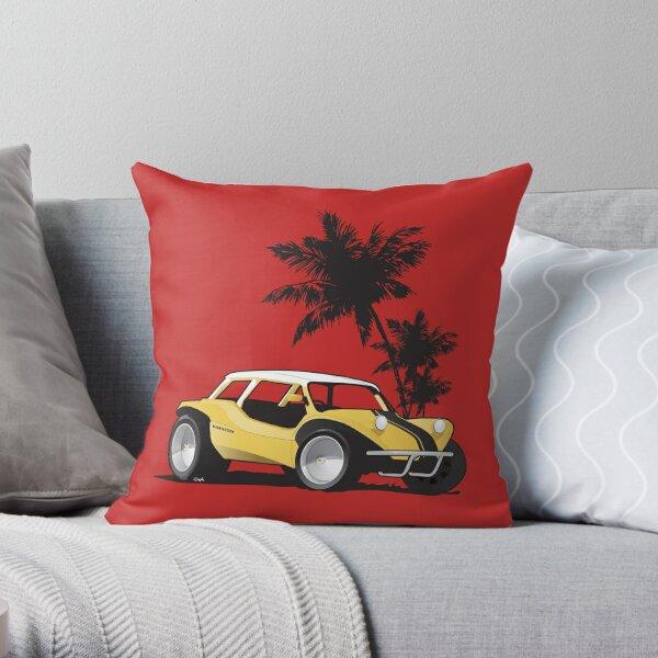 Speed Racer Beach Buggy Throw Pillow