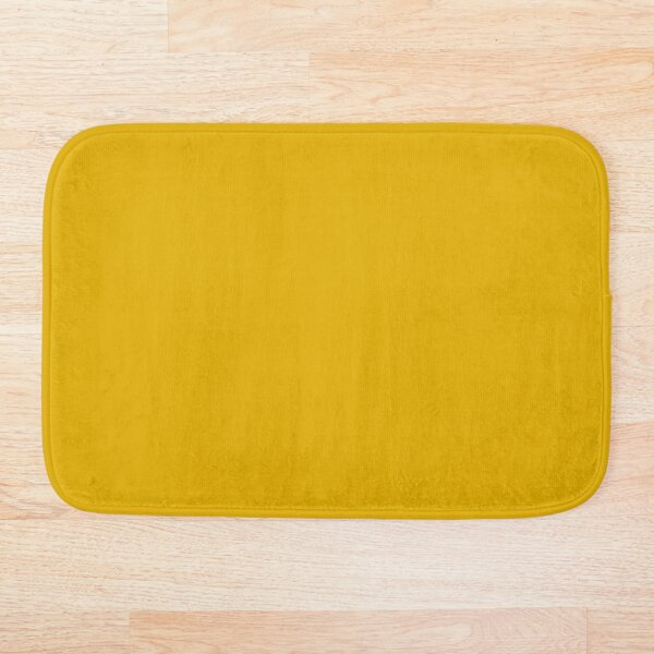 Mustard Yellow Bath Mat