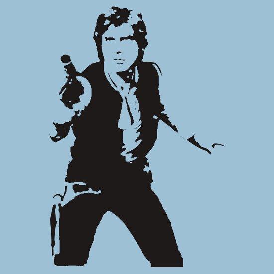 TShirtGifter presents: Han Solo, Star Wars