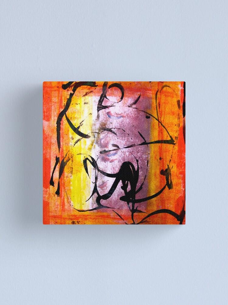 Alternate view of Dervish Canvas Print
