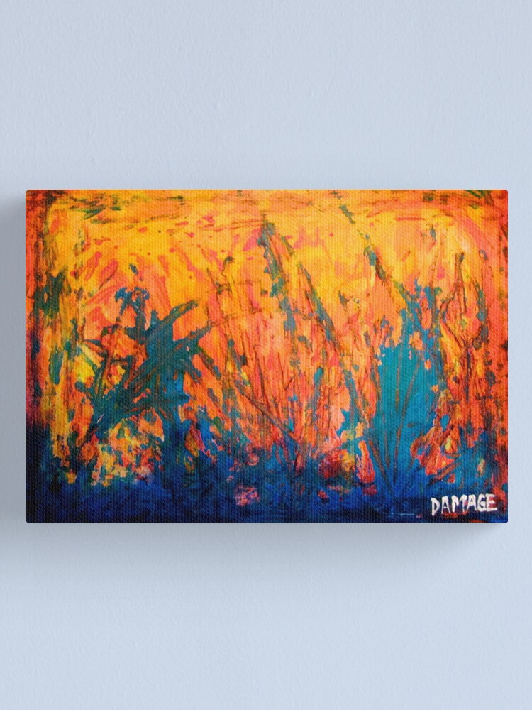 Alternate view of Fire And Rain Canvas Print