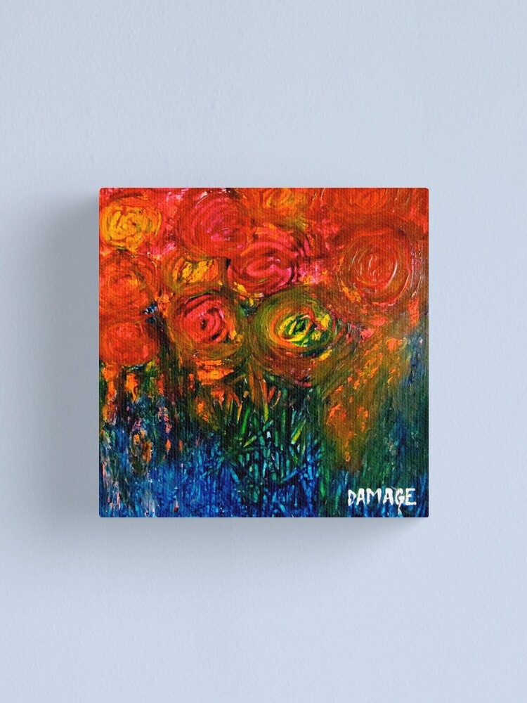 Alternate view of Roses Canvas Print