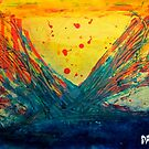 Volcanic Splash by Brian Damage