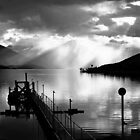 Lake Te Anau sunset. South Island, New Zealand. (4) by Ralph de Zilva