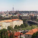 Prague , Czech Republic panorama by grorr76