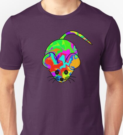 Colourful Mouse T-Shirt