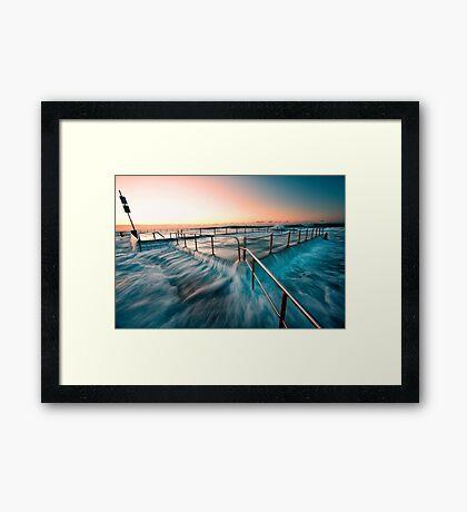 Mona Vale Pool Framed Print