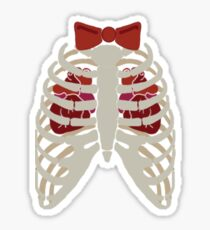 Time Lord have Two Hearts Sticker