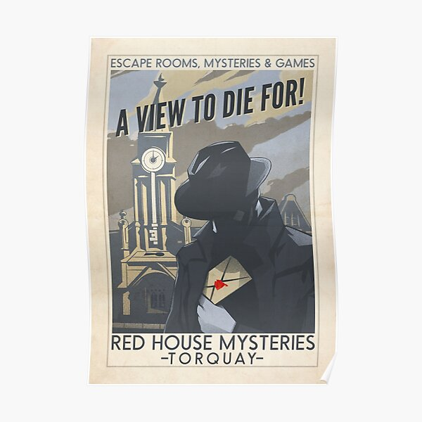 Red House Mysteries Torquay Poster