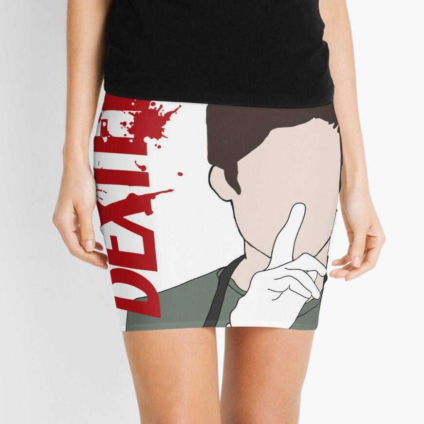 Dexter Morgan Shhhh Mini Skirt