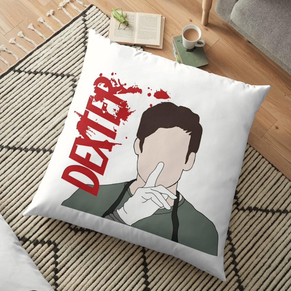 Dexter Morgan Shhhh Floor Pillow
