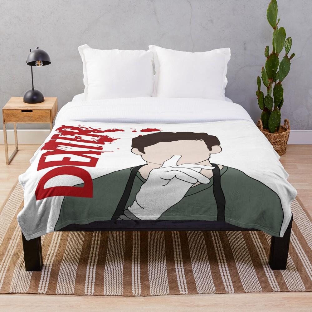 Dexter Morgan Shhhh Throw Blanket