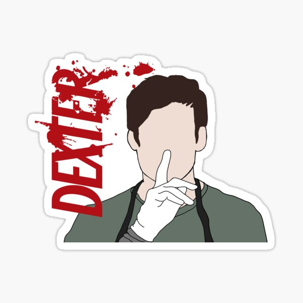 Dexter Morgan Shhhh Sticker