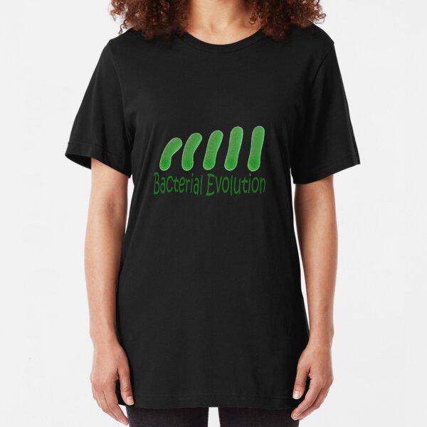 Bacterial Evolution Slim Fit T-Shirt