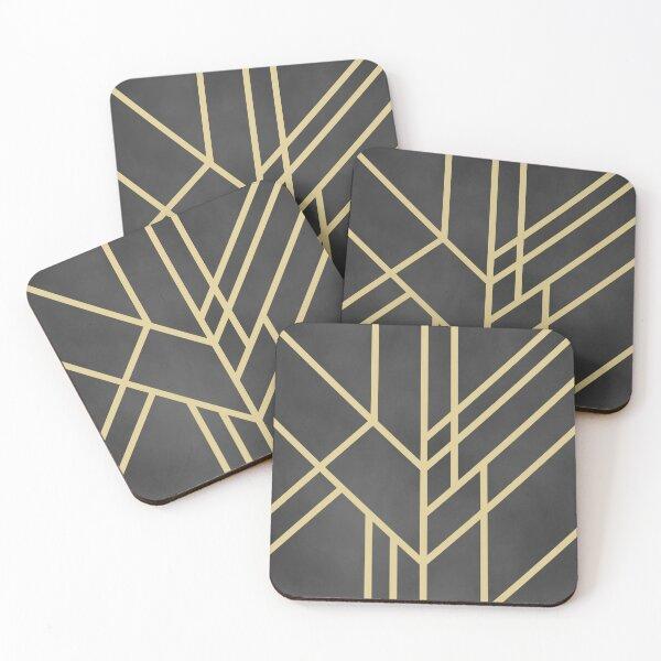 Art Deco design Coasters (Set of 4)