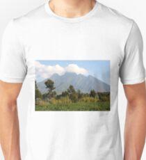 Mount Sabinyo, Kinigi, Volcanoes National Park Rwanda  Unisex T-Shirt