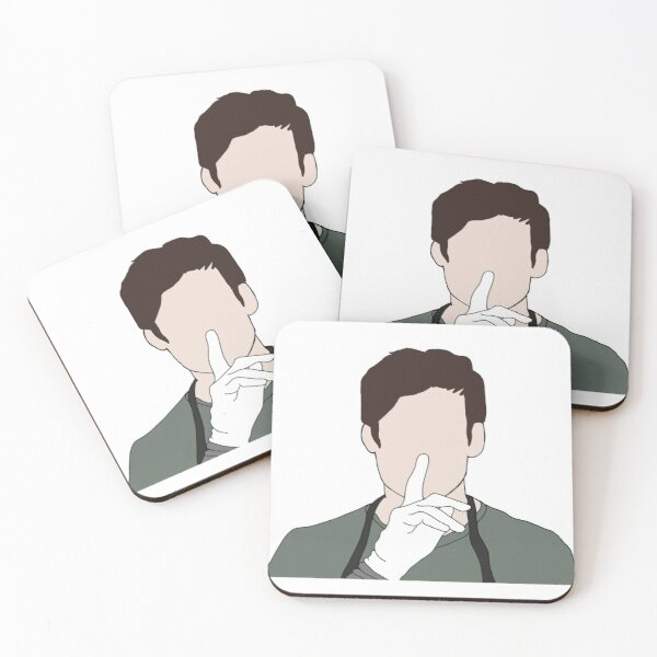 Ready to Work- Dexter Morgan Coasters (Set of 4)