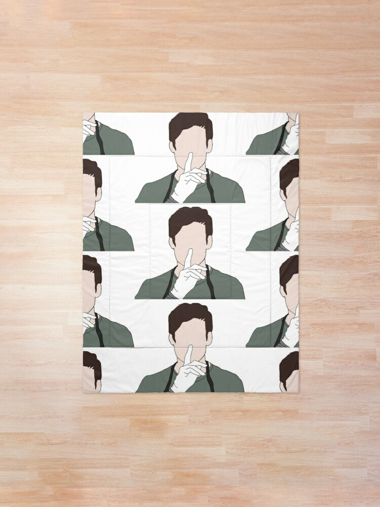Quot Ready To Work Dexter Morgan Quot Comforter By Km83 Redbubble