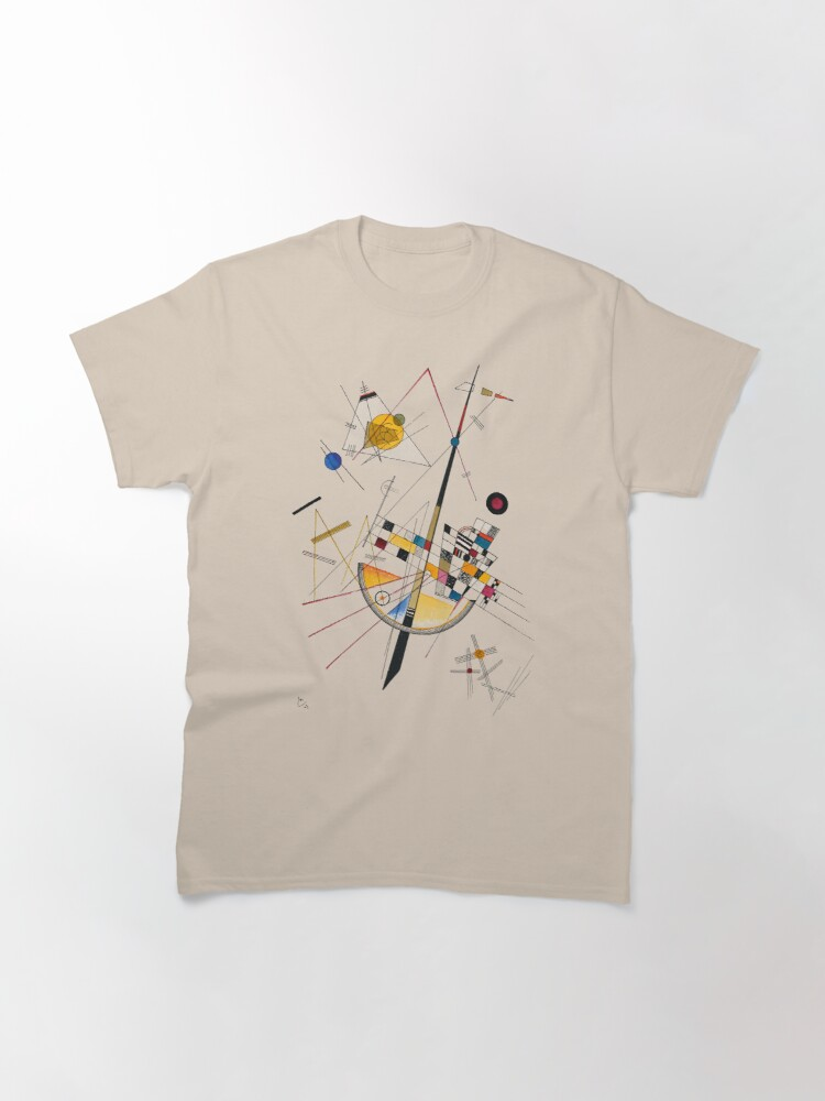 Alternate view of Kandinsky Delicate Tension No. 85, 1923 Artwork Reproduction, Design for Posters, Prints, Tshirts, Men, Women, Kids, Youth Classic T-Shirt