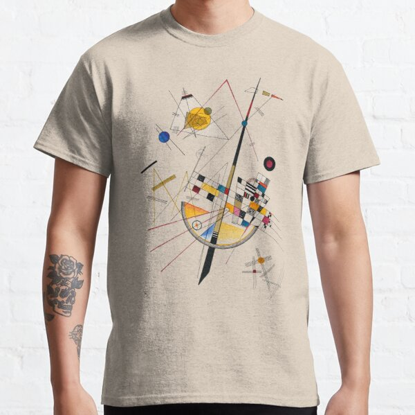 Kandinsky Delicate Tension No. 85, 1923 Artwork Reproduction, Design for Posters, Prints, Tshirts, Men, Women, Kids, Youth Classic T-Shirt