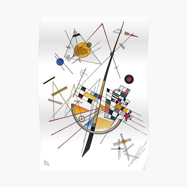 Tension délicate Kandinsky n ° 85 Poster