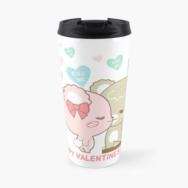 Sugar Cubs Valentine's Day Travel Mug