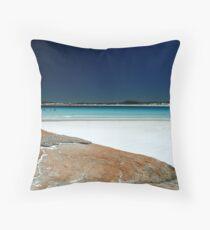 Whartons Beach Throw Pillow