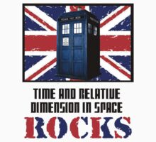 Time and Relative Dimension in Space Rocks ( T-Shirt )