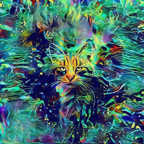 Deep Style Cat