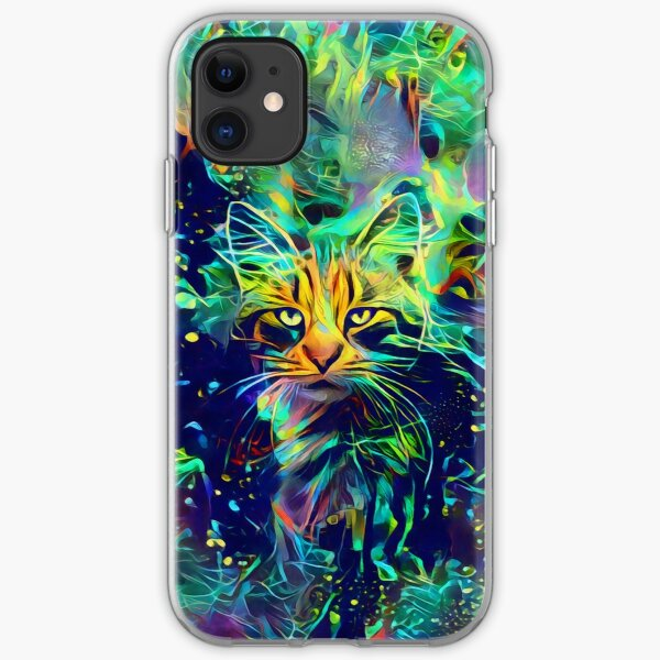 Deep Style Cat iPhone Soft Case