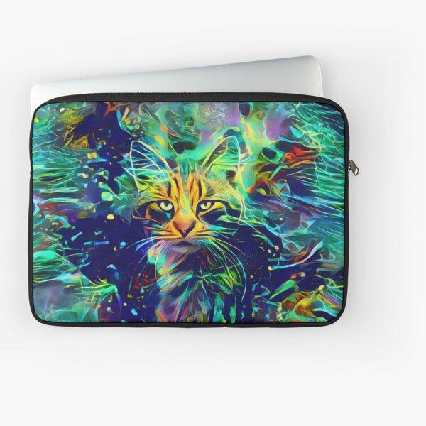 Deep Style Cat Laptop Sleeve