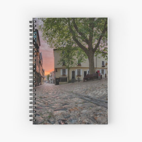 Elm Hill Dawn Spiral Notebook