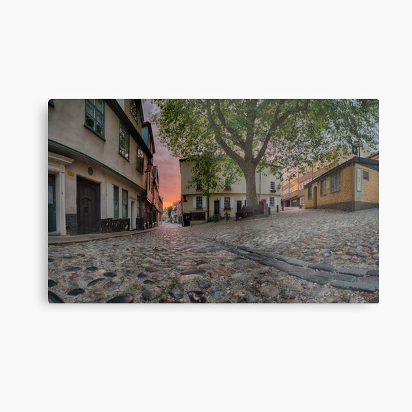 Elm Hill Dawn Metal Print