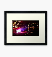 Electric Zoo 1. Framed Print