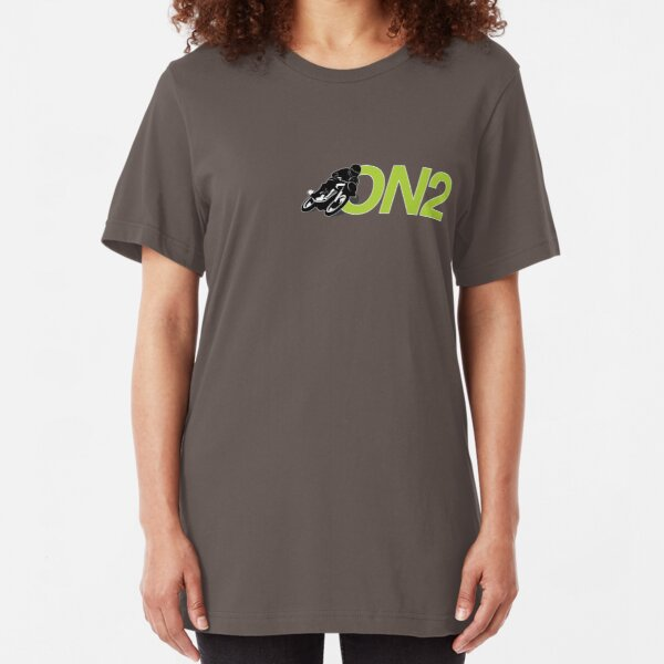 On2 Logo Slim Fit T-Shirt
