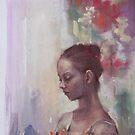 A dancer's portrait  by vasenoir