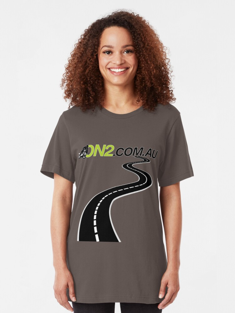 Alternate view of On2 - Windy Road Slim Fit T-Shirt