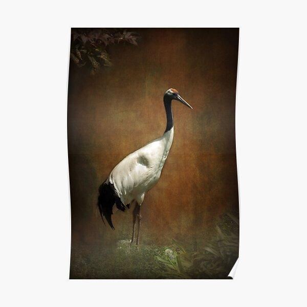 Bringer of luck - Japanese Crane Poster
