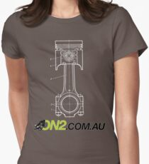 On2 - Piston Goes Bang Women's Fitted T-Shirt