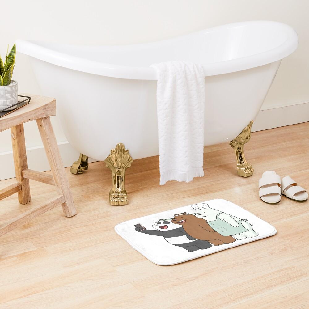We Bare Bears Bath Mat