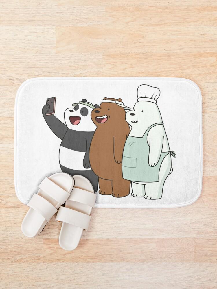 Alternate view of We Bare Bears Bath Mat