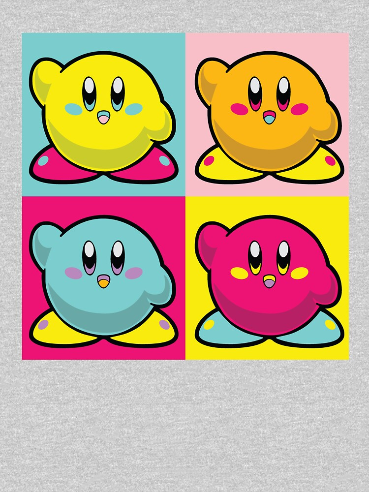 Four In One Colourful Kirby by chrismick42