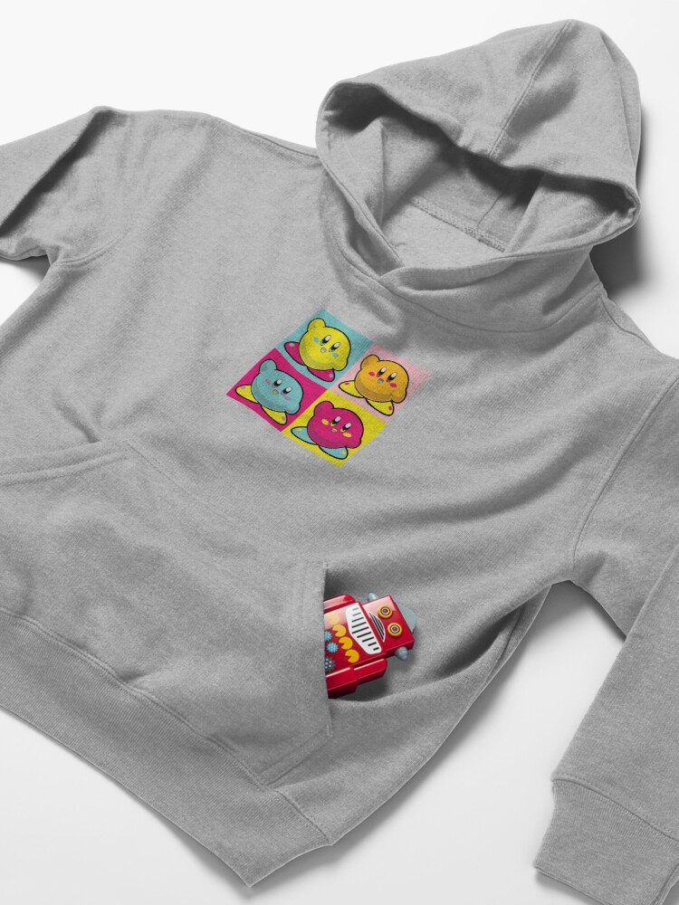 Alternate view of Four In One Colourful Kirby Kids Pullover Hoodie