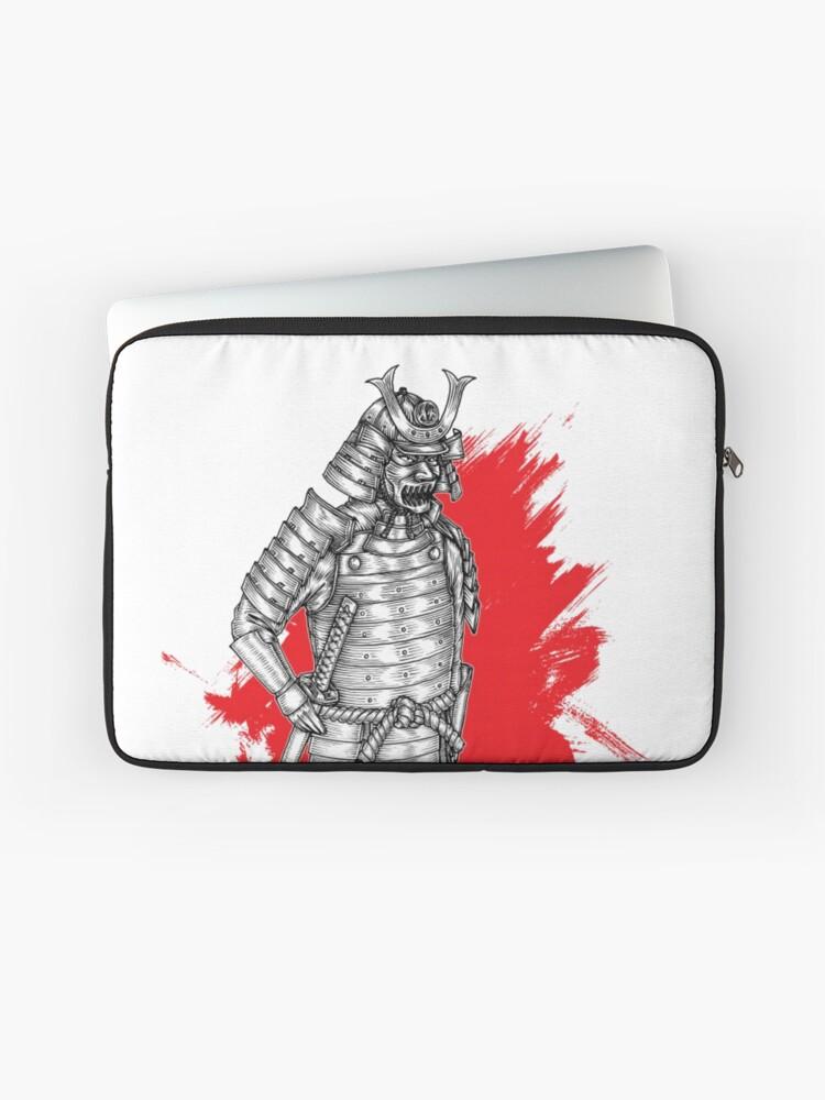 Japanese Warrior Art Samurai ZEN SWORDSMAN 12 13 14 15 Laptop sleeve Case Universal Cover Bag