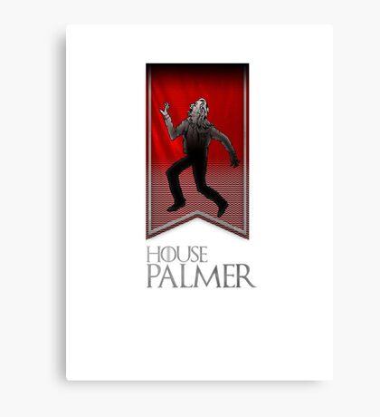 House Palmer Canvas Print