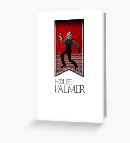 House Palmer Greeting Card