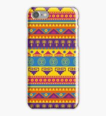 Vivid mexican pattern  iPhone Case/Skin