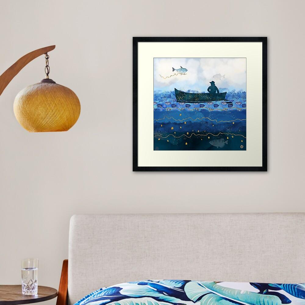 The Fisherman's Dreams Framed Art Print